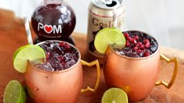 Cocktail Recipe: Pomegranate Moscow Mule
