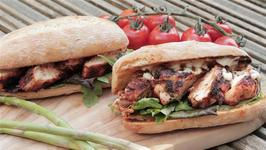 Cajun Chicken Burger