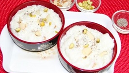 Leftover Rice Pudding/Chawal Kheer Video Recipe