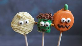 DIY Halloween Pops