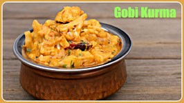 Gobi Kurma - Easy Side Dish For Chapati, Poori, Bhakri