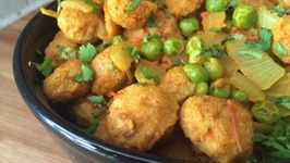 Punjabi Soya Nutri Matar Recipe  Masala Soya Chunks Vegetarian