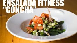 Ensalada Fitness Y Saludable. Grabada Con Una Go Pro