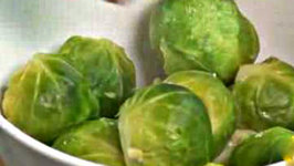 Healthy Cooking and Eating Well - Brussels Sprouts
