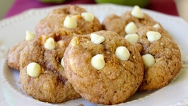 How To Make Apple Pie Cookies -Apple, cinnamon, White Chocolate Cookies