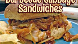 SuperFast Barbecue Cabbage Sandwiches