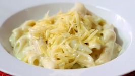 How to make Penne Pasta Pasta in White Sauce Quick Pasta in White Sauce