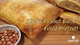 How to make a Giant Peanut Butter Filled Pretzel