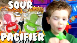 Flix Candy Sour Pacifier Pops So Sour You Will Cry Kids Candy Review