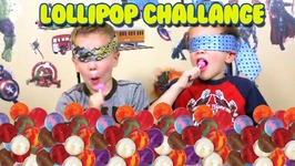 Kids React to Original Gourmet Lollipop Taste Test Challenge