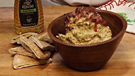 How to Make Homemade Caramalised Red Onion Hummus