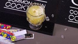 Fuzzy Navel Tiki Style - 1980's Cocktails Remixed
