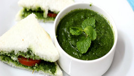 How to Make Mint Chutney Pudina Chutney Mint Sandwich
