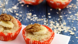 Banana Walnut Muffins (Healthy Snacks for Kids)