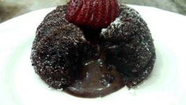 Eggless Molten Choco Lava Cake - Without Condensed Milk