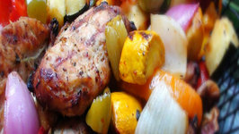 Greek Marinated Grilled Chicken and Vegetables