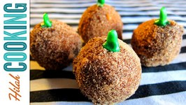 How To Make Pumpkin Cake Donut Holes
