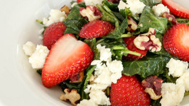 How to Make Strawberry Kale Salad