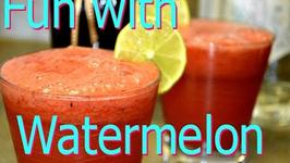 Watermelon Lemonade Virgin or Cocktail togo