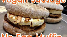 Vegan Sausage No-Egg Muffin