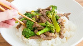Chinese Beef and Broccoli - Chinese Takeout At Home Miniseries