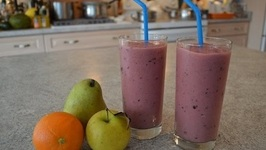 How To Make Chikoo And Mixed Fruit Smoothies