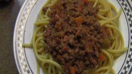 Italian Food: Ragu Alla Bolognese