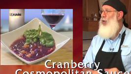 New England Cranberry Cosmopolitan Sauce