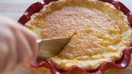 Lemon Buttermilk Pie Recipe - Thanksgiving Dessert