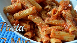 Pasta In Tomato Sauce- Easy Kid's 5 Minute Pasta