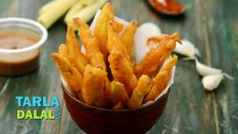 Baby Corn Fritters / Fried Baby Corn