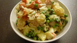 PersianRussian Potato Salad - Olivier Salad