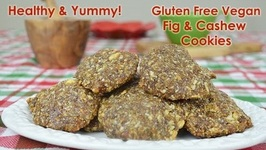 Vegan Gluten-Free Holiday Cookies With Figs And Cashew Nuts