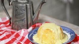 Homemade Treacle Pudding