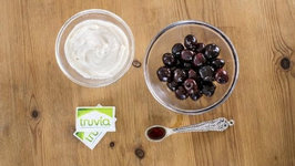 Reduced Sugar Cherry Vanilla Smoothie with Truvia Natural Sweetener