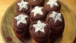 Chocolate Spice Cupcakes- Christmas