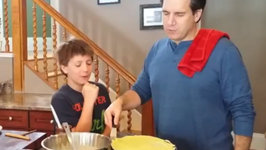 Making Homemade Nutella Crepes with Your Kids