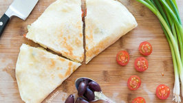 Greek-Style Quesadilla Recipe - My Fav Quick Lunch