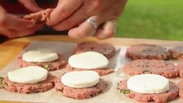 How to Grill Stuffed Caprese Turkey Sliders Recipe