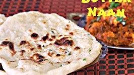 Naan - Eggless No yeast No Oven Stovetop Naan or Tawa Naan