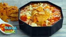 Mexican Nacho Soup, Recipe In Hindi