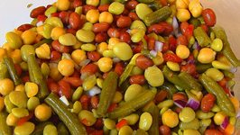 Betty's Four Bean Salad -- Christmas