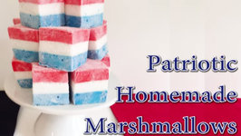 How to Make Patriotic Marshmallows