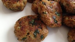Tasty Vegan Kabobs  Bulgur Wheat Veg Tikki