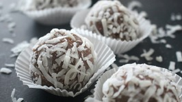Raw Vegan Chocolate Truffles DIY Christmas