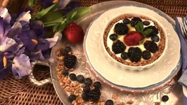 Healthy Easy & Delicious Fresh Fruit Tart