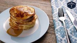 Ricotta Pancakes Recipe - 4K