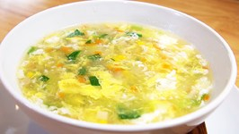 The Ultimate Vegetable Egg Drop Soup Recipe