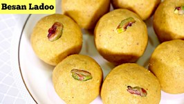 How To Make Besan Laddu / Besan Ladoo