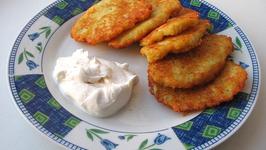 Potato Latkes Pancakes